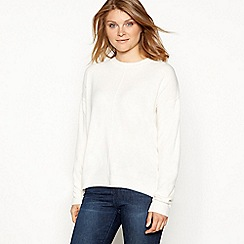 The Collection - Ivory supersoft long sleeve jumper