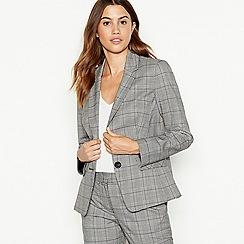 The Collection - Multicoloured check print suit jacket
