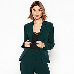 8b61dac3bb5 The Collection - Dark green  Forest  suit jacket