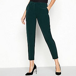 The Collection - Dark green 'Forest' suit trousers