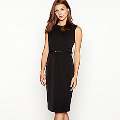 The Collection - Black knee length suit dress