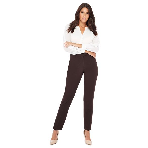 leg brown slim trousers The Dark Collection CwqcFxcIY4