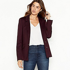 The Collection - Plum ponte blazer