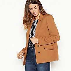The Collection - Tan ponte blazer