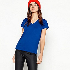 The Collection - Blue chiffon trim t-shirt