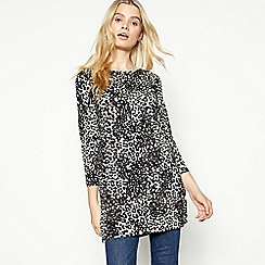 The Collection - Natural Animal Print Jersey Tunic