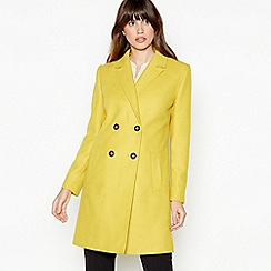 The Collection - Lime Double Breasted Coat