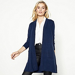 The Collection - Navy Edge to Edge Cardigan
