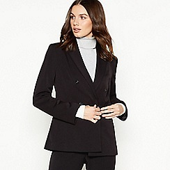 The Collection - Black double breasted suit jacket