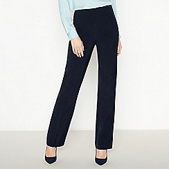 Principles Collection - Navy long straight leg trousers