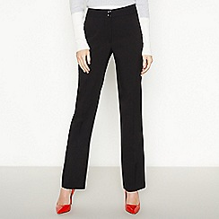 Principles Collection - Black straight leg trousers