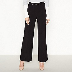 Principles Collection - Black wide leg trousers