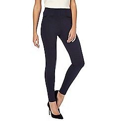 The Collection Petite - Navy ponte petite leggings