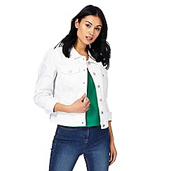 The Collection - White denim jacket
