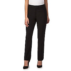 The Collection Petite - Black slim leg petite trousers