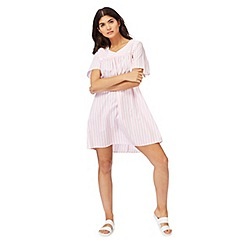 H! by Henry Holland - Pink and white striped smock dress
