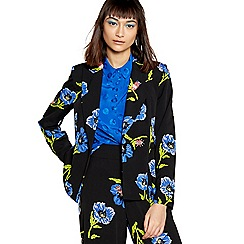 H! by Henry Holland - Blue floral print blazer