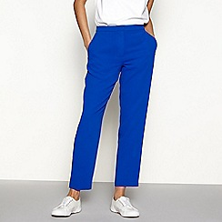 H! by Henry Holland - Blue tailored smart trousers