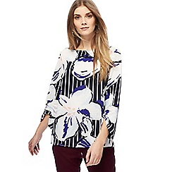 Principles - Multi-coloured flower print top