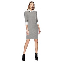 Principles - Grey mock tunic dress