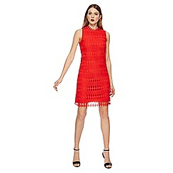 Principles - Red lace knee length shift dress