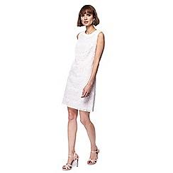 Principles - Ivory lace mini shift dress