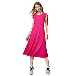 Principles - Bright pink sleeveless midi dress