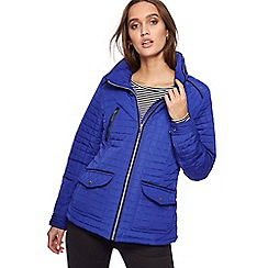 Principles - Royal blue quilted jacket