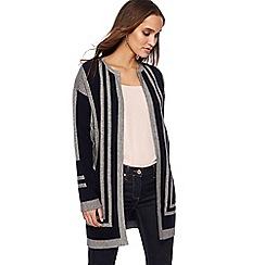 Principles - Grey colour block coatigan