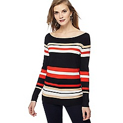 Principles - Multi-coloured striped jumper