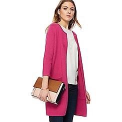 Principles - Pink longline cardigan