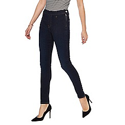 Principles - Blue side zip skinny jeans