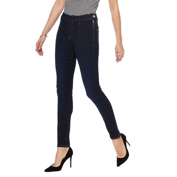zip Principles side Blue jeans skinny RBBzn