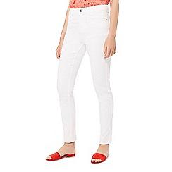 Principles - White slim leg jeans