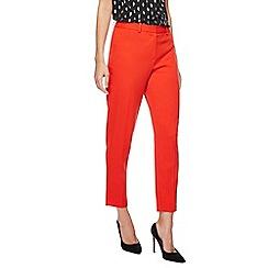 Principles Petite - Red straight leg trousers