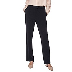 Principles Petite - Blue straight leg suit trousers