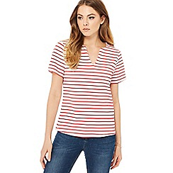 Principles - Red striped top