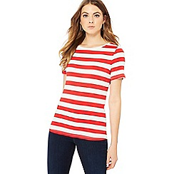 Principles - Red and white striped t-shirt