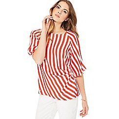 Principles - Red java stripe top