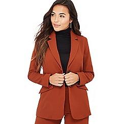 Principles Petite - Dark tan 'Tobacco' petite suit jacket