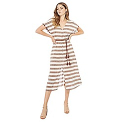 Principles - Multi-coloured wide striped dress