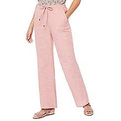 Principles - Light pink wide leg trousers
