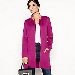 Principles - Bright pink edge to edge coatigan