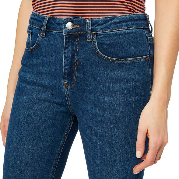 wash cropped Blue Principles skinny mid jeans xBzZw6