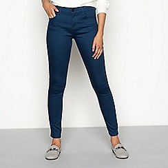 Principles - Turquoise soft touch smart denim skinny jeans