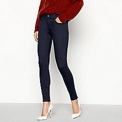 Principles - Navy soft touch smart denim skinny jeans