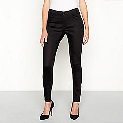 Principles - Black soft touch smart denim skinny jeans