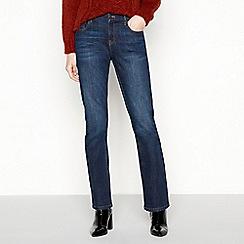 Principles - Blue bootcut mid wash denim skinny jeans