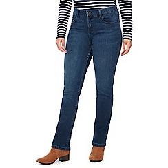 Principles Petite - Dark Blue Mid Wash Straight Fit Petite Jeans