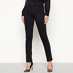 Principles - Black dark wash 'Figure Define' slim leg jeans